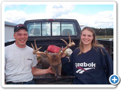 Couple with Buck