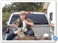 Kid with Buck