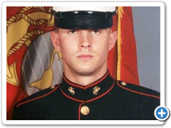 Alex Tomany (owner Dave's son) Marine graduate 2010