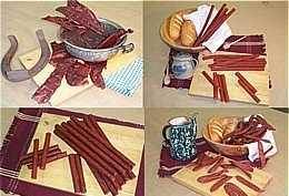 Landjaeger, Jerky, Snack Sticks