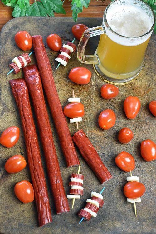Smoked Bbq Snack Sticks 3lbs Smoked Sticks Wisconsin